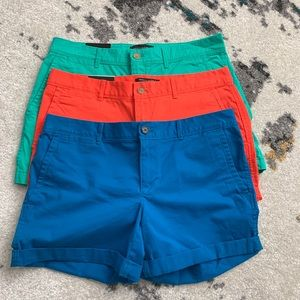 Set of 3 Banana Republic Shorts 4.5 & 5""